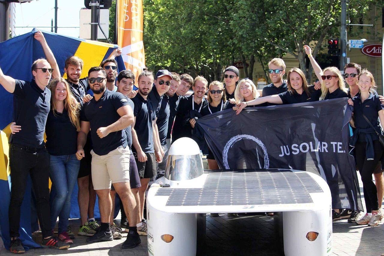 JU Solar Team vui mừng với thành tích top 10 World Solar Challenge 2019