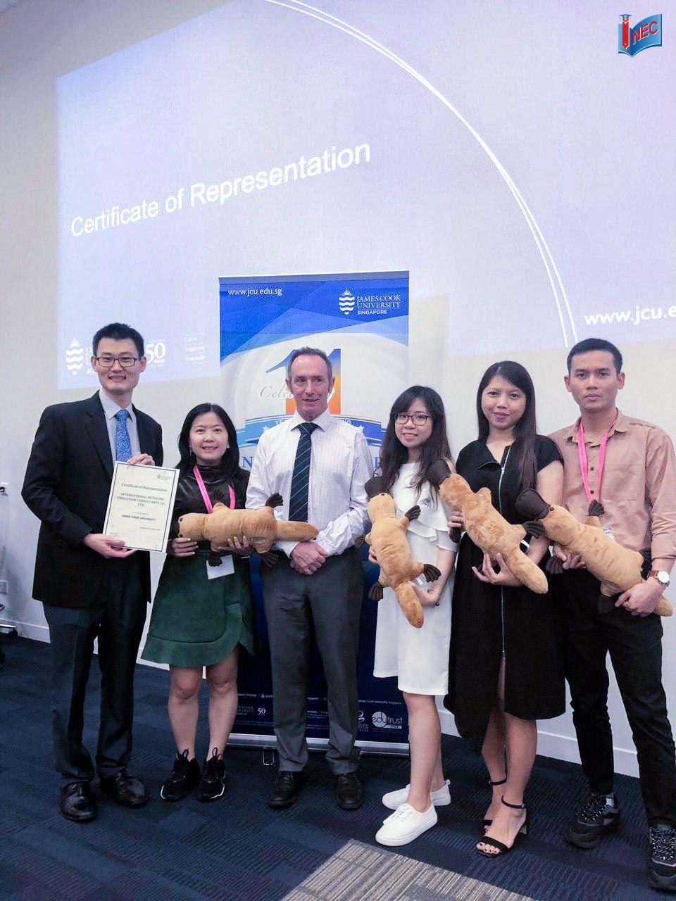 Hội nghị đối tác cao cấp JCU Singapore 2019