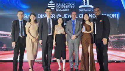 INEC đạt gINEC tham dự hội nghị đối tác cao cấp của ĐH James Cook Singapore