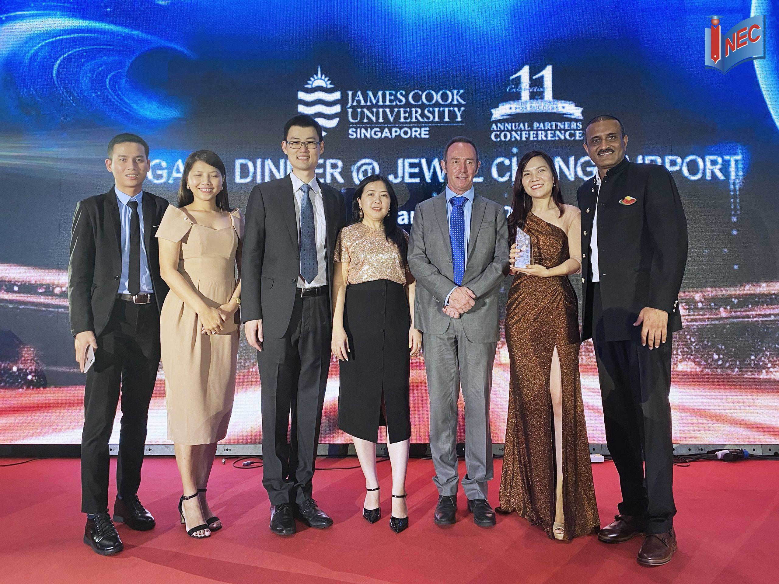 Hội nghị đối tác cao cấp JCU Singapore
