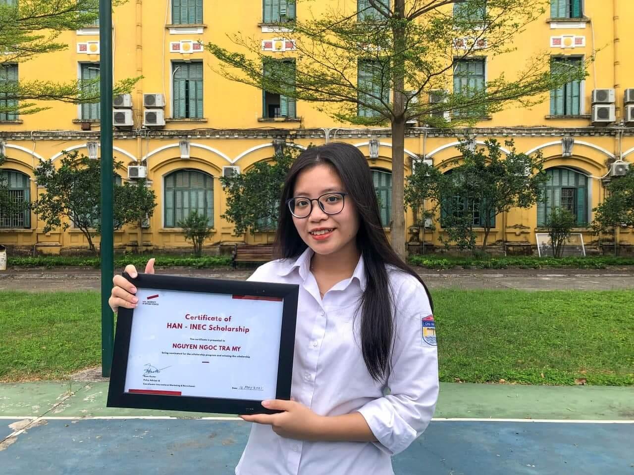 Học bổng HAN 100% - Nguyễn Ngọc Trà My