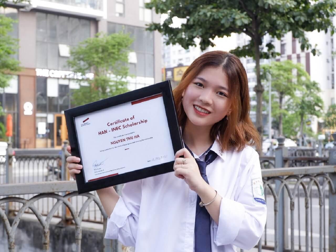 Học bổng HAN 100% - Nguyễn Thu Hà