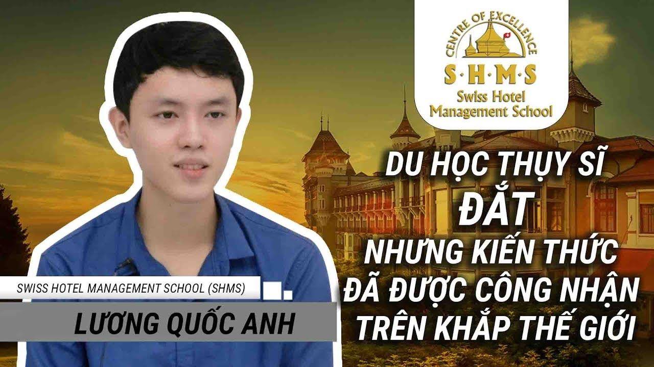 Du học sinh Thụy Sĩ tại trường SHMS: bạn Lương Quốc Anh