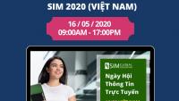 Ngày hội thông tin trực tuyến SIM 2020