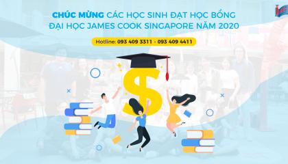 Học sinh nhận học bổng James Cook Singapore 2020