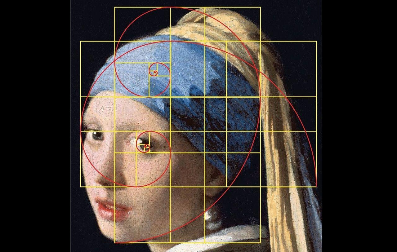 Toán học có rất nhiều ứng dụng vào đời sống, kể cả nghệ thuật và cái đẹp. (Tỉ lệ vàng trong bức tranhCô gái đeo hoa tai ngọc traicủa danh họa Hà Lan Johannes Vermeer)