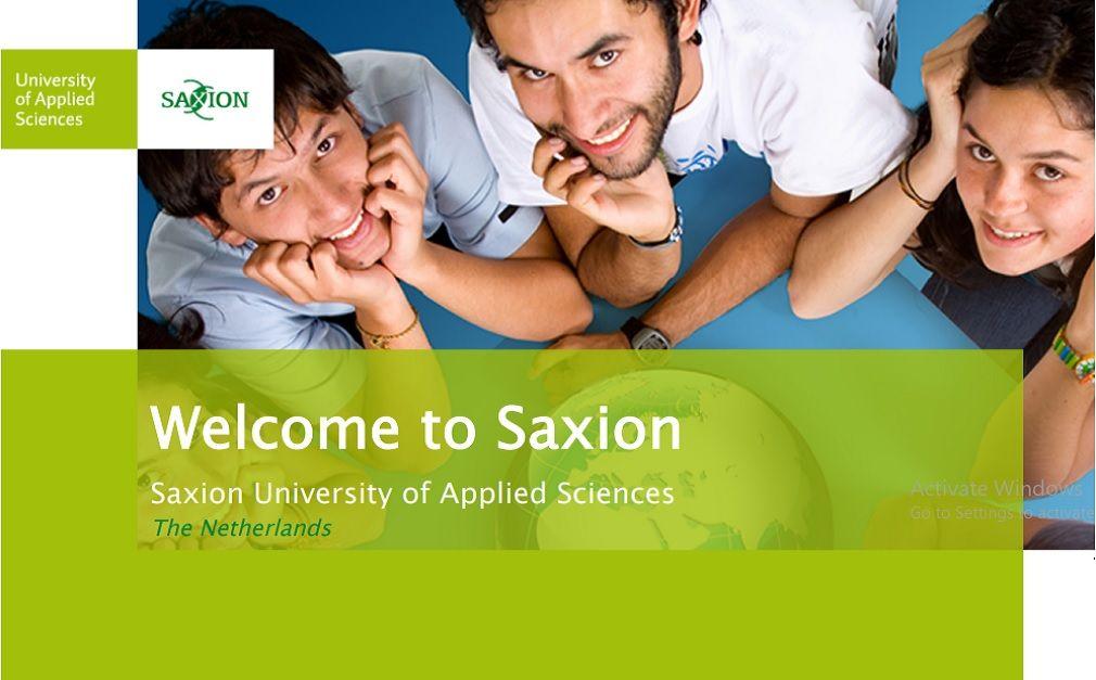 Do hạn chế bởi Covid-19 nên một số hoạt động chào mừng tân sinh viên của Đại học KHUD Saxion sẽ được thực hiện trực tuyến