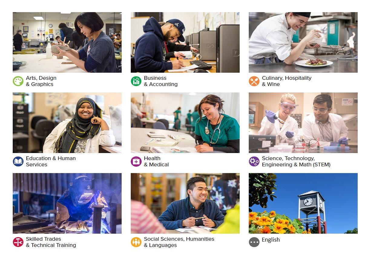 Đa dạng lĩnh vực đào tạo tại Cao đẳng cộng đồng South Seattle