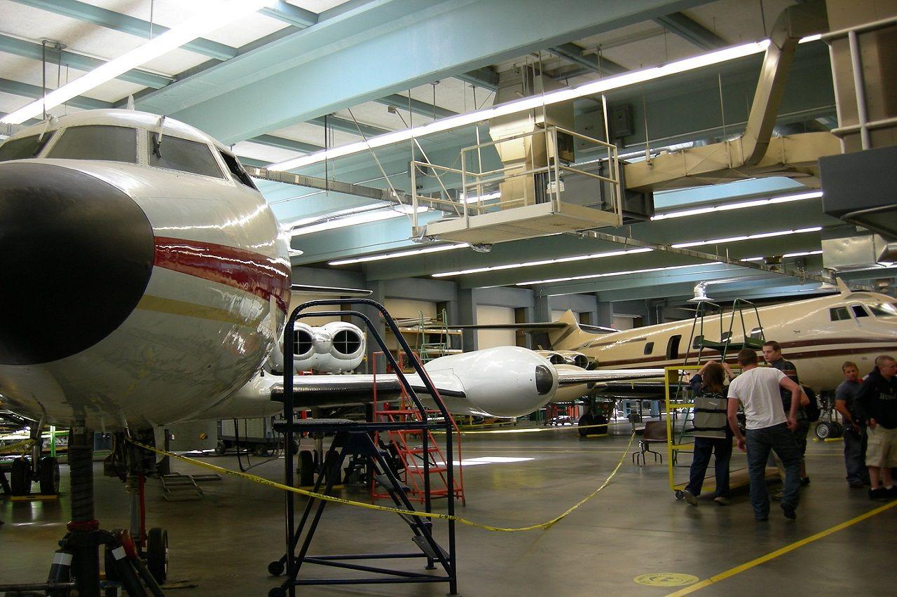Nơi học bảo trì máy bay tại Cao đẳng cộng đồng South Seattle