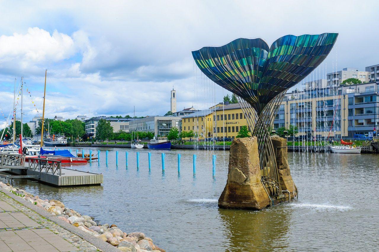 Một công trình ấn tượng tại thành phố Turku
