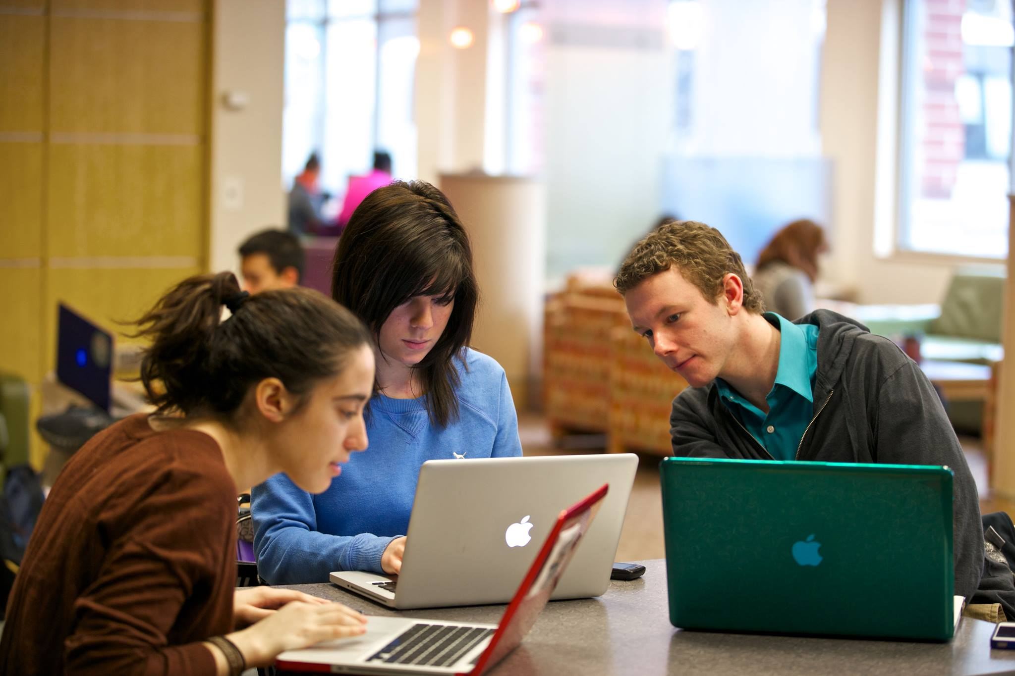 Sinh viên Đại học DePaul làm việc nhóm