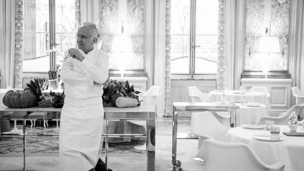 Đầu bếp Alain Ducasse
