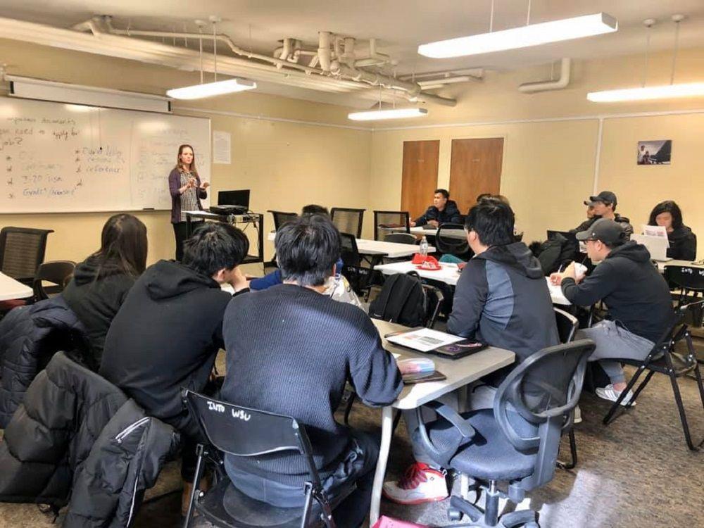 Lớp học quy mô nhỏ của INTO tại Đại học Washington State