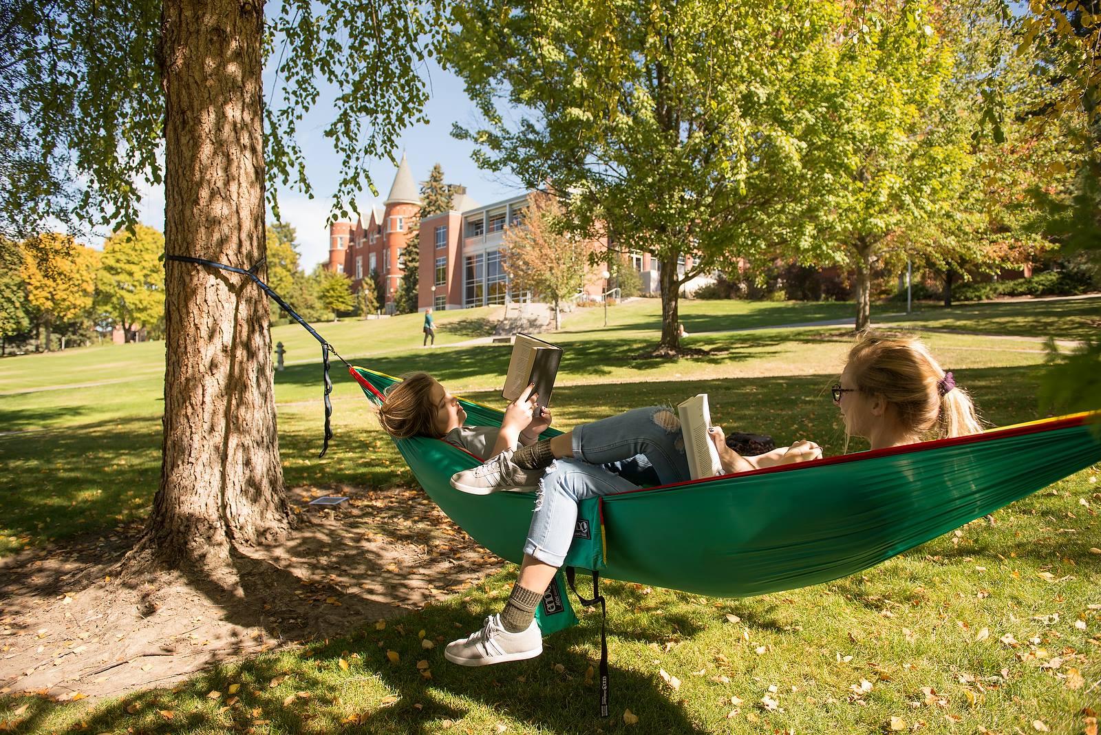 Một cách thư giãn của sinh viên Đại học Washington State