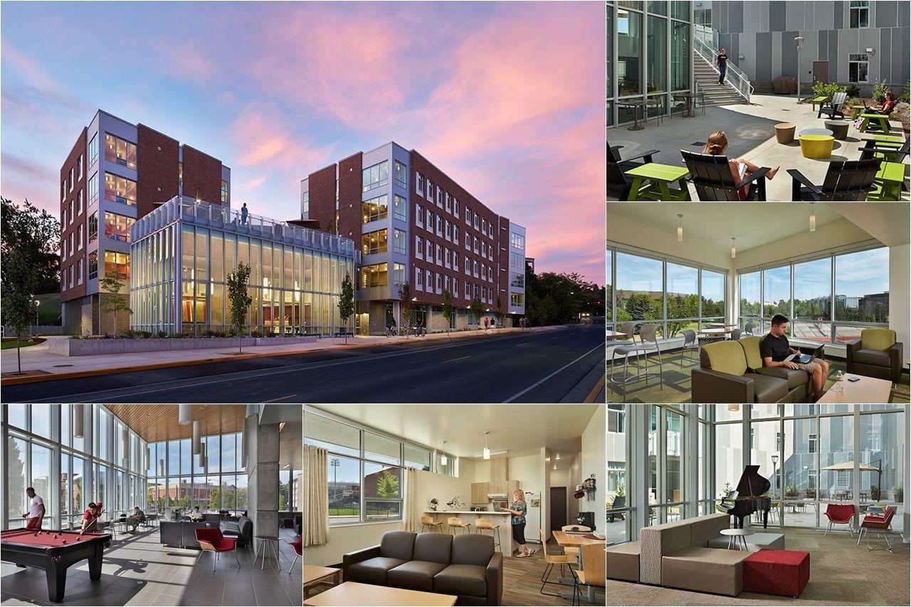 Không gian nhà ở sinh viên của Đại học Washington State