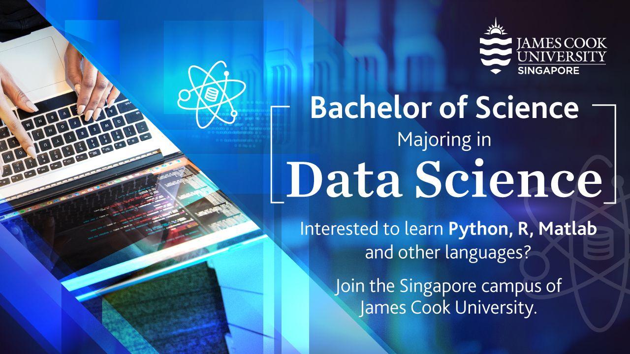 Ngành khoa học dữ liệu tại Đại học James Cook Singapore