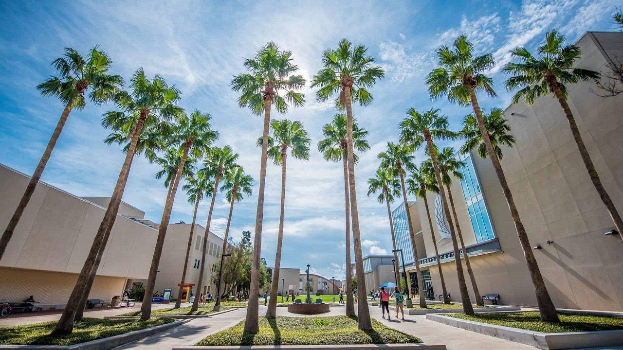Không gian khoáng đãng của Đại học Texas A&M - Corpus Christi