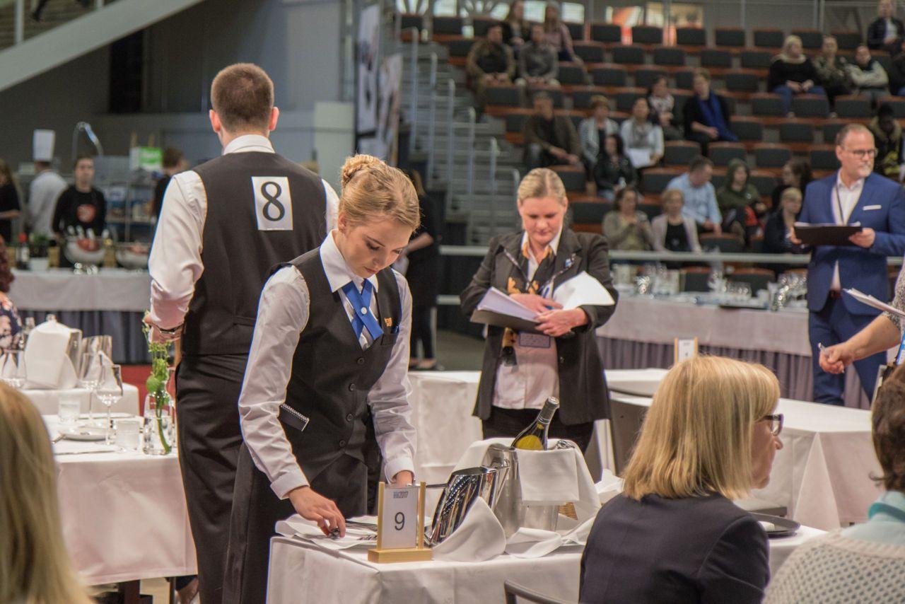 Cuộc thi kỹ năng tay nghề (World Skill Competition) được tổ chức tại Phần Lan năm 2017 với hơn 50 quốc gia tham dự