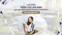 Học sinh INEC Trần Thị Lan Anh đạt học bổng SMU