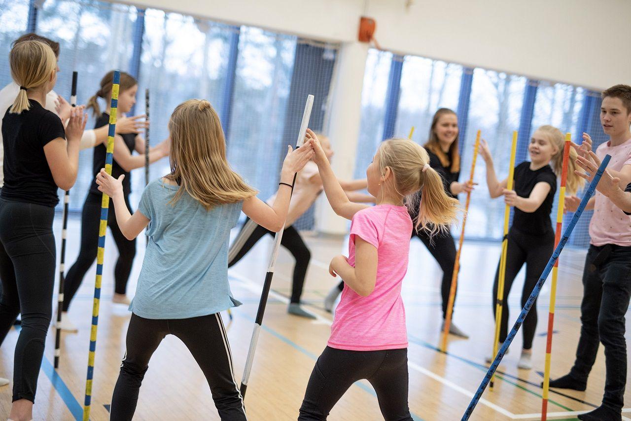 Học sinh Phần Lan được tạo điều kiện để học tập và phát triển năng khiếu về nghệ thuật