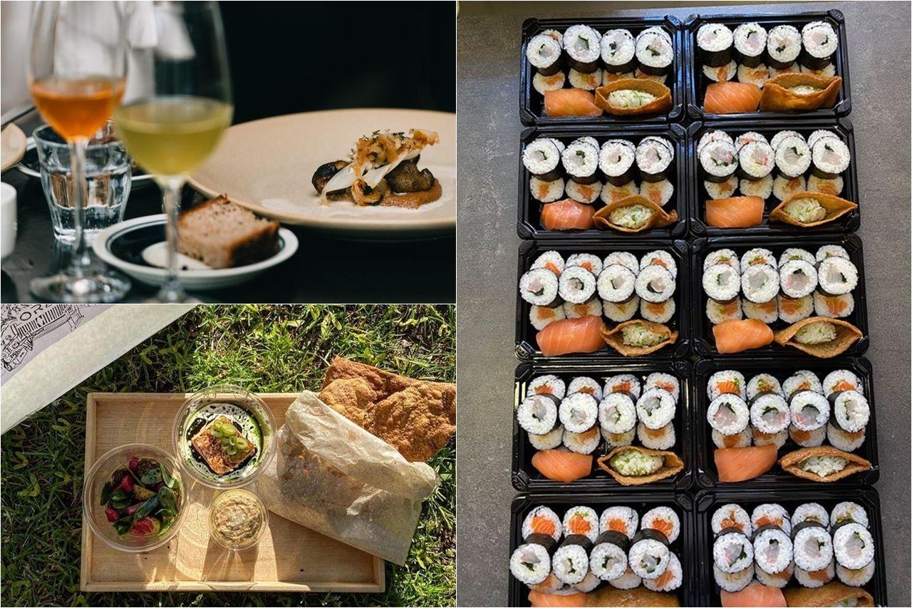Từ bữa ăn được phục vụ tại nhà hàng chuyển thành các bữa ăn mang đi tiện lợi