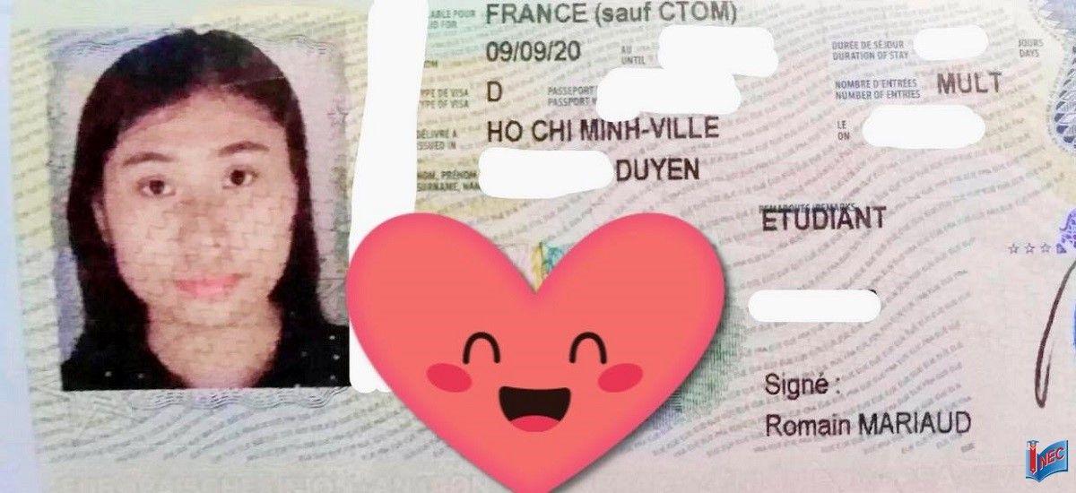 Visa du học Pháp