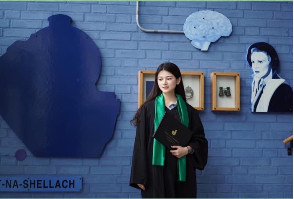 Wenxi Lyu học chương trình pathway semester năm 2016, sau đó vào chương trình cử nhân quản lý quốc tế tại Đại học Jonkoping. Sau khi tốt nghiệp, Wenxi học thạc sĩ tại Đại học Lund.