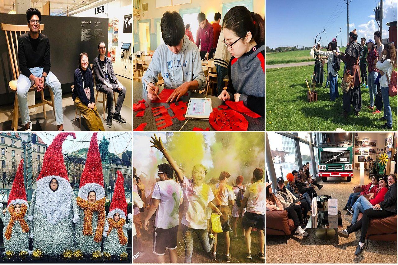 Một số hoạt động ngoại khóa của sinh viên chương trình pathway như: tham quan bảo tàng IKEA, bảo tàng Volvo, bắn cung, lễ hội sắc màu, mừng năm mới, giáng sinh...