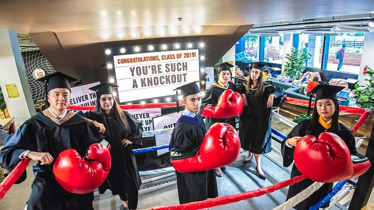 Sinh viên SMU không ngại đương đầu với thách thức để lớn mạnh hơn