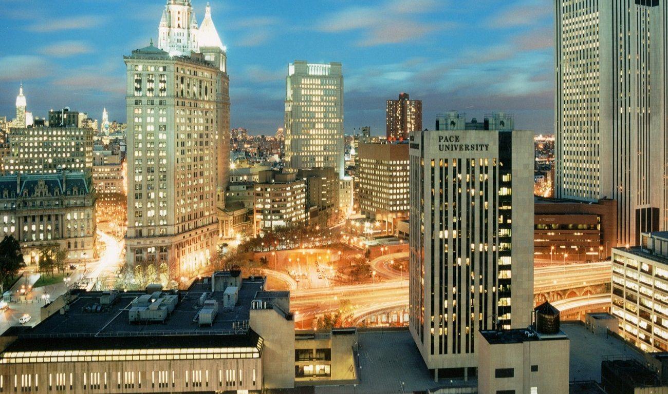 Đại học Pace tọa lạc tại trung tâm nhộn nhịp của thành phố New York