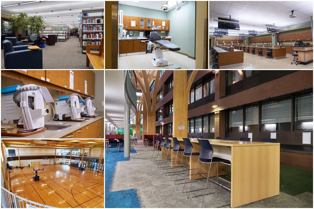 Một số cơ sở vật chất phục vụ học tập và hoạt động sinh viên tại Confederation College