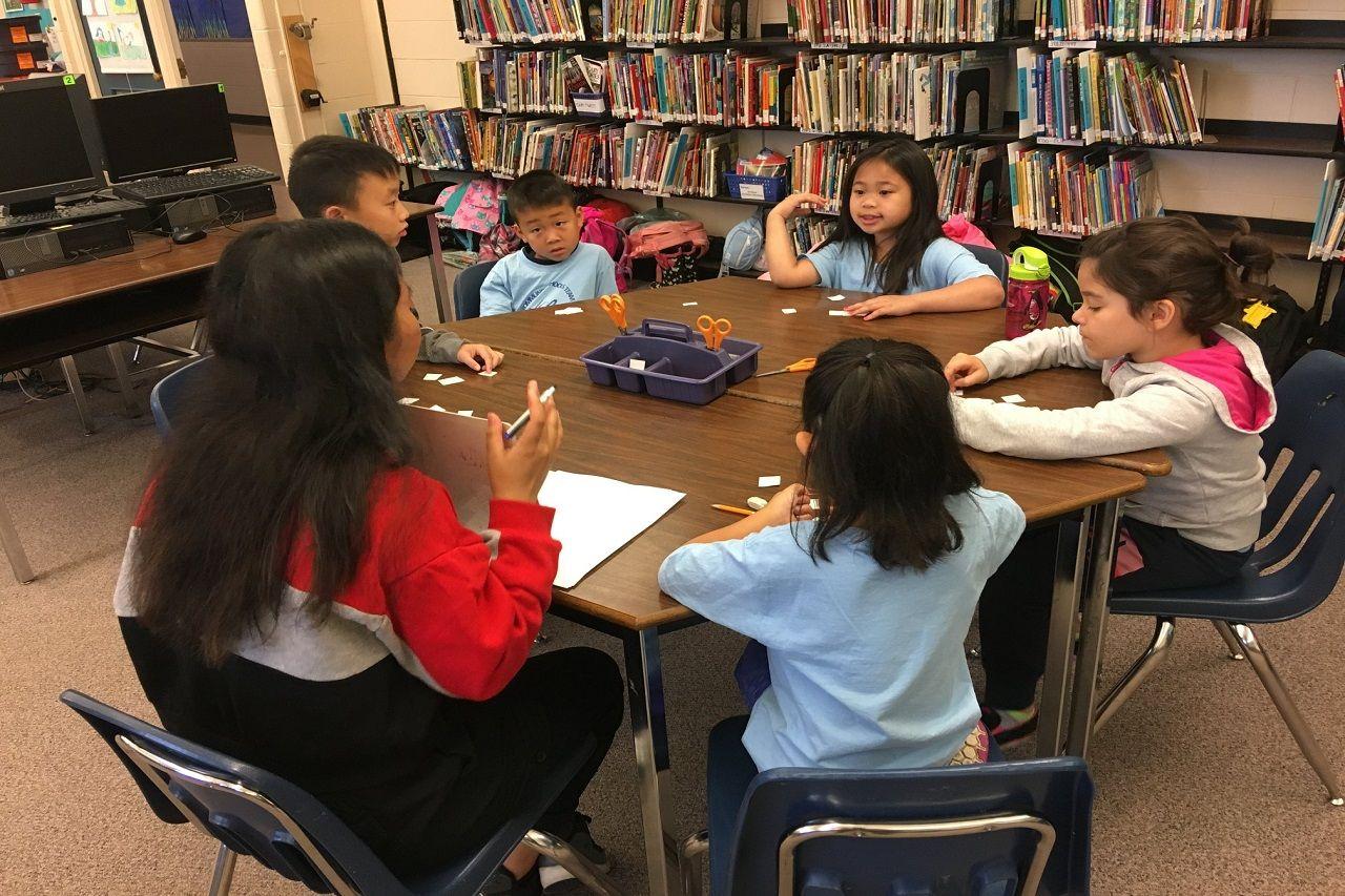 Một lớp học quy mô nhỏ trong Hệ thống Vancouver School Board