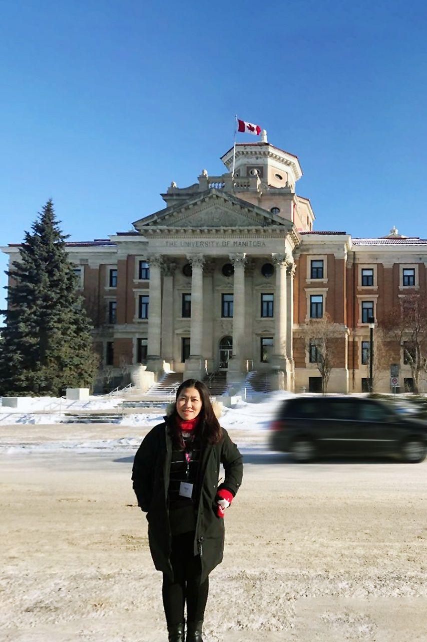 Đại diện Du học INEC trong chuyến thăm Đại học Manitoba
