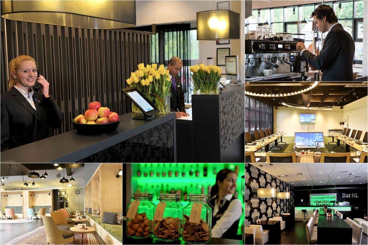 Khách sạn 4 sao, nhà hàng, phòng hội nghị hoạt động thực tế và phục vụ đào tạo ngành quản lý nhà hàng khách sạn tại Đại học KHUD NHL Stenden