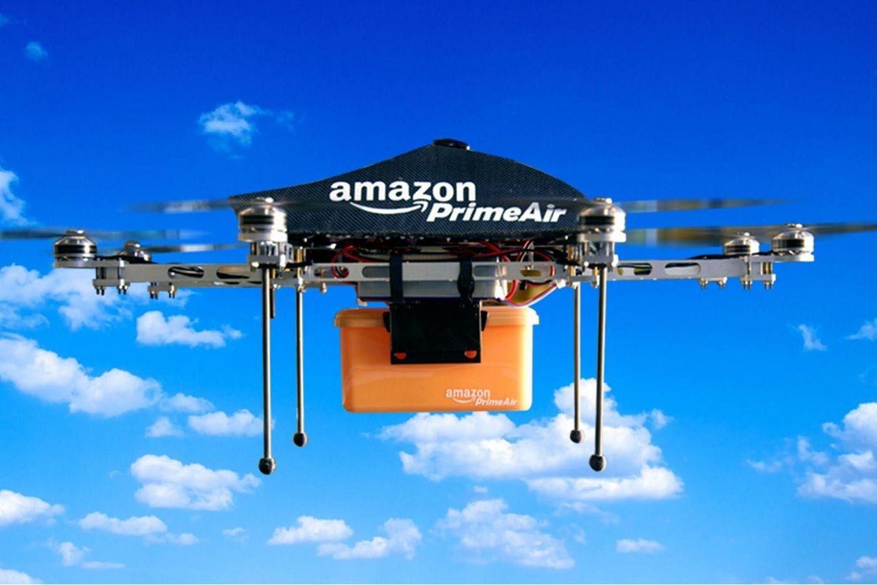 Amazon đầu tư vào hệ thống máy bay không người lái để rút ngắn thời gian giao hàng