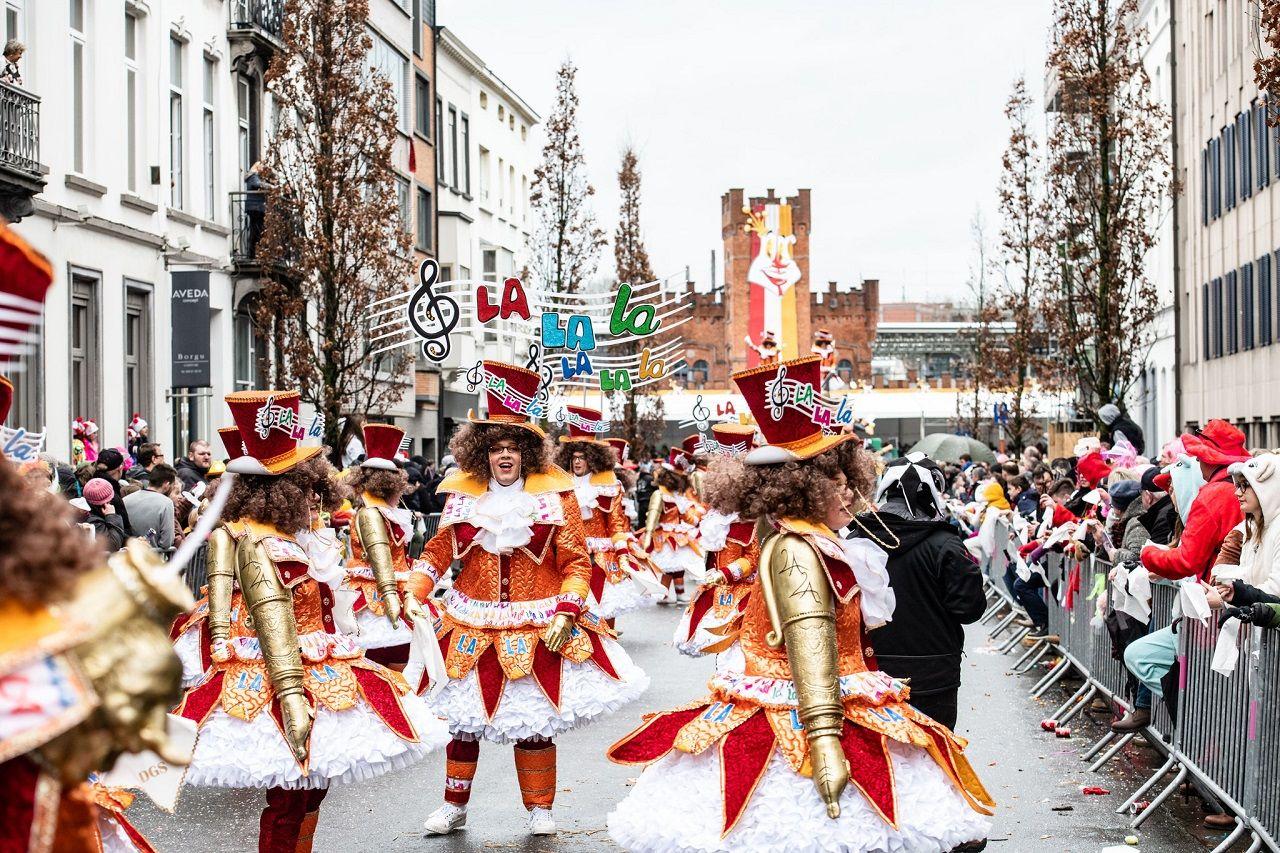 Một lễ hội vào tháng 3 ở Aalst, Bỉ