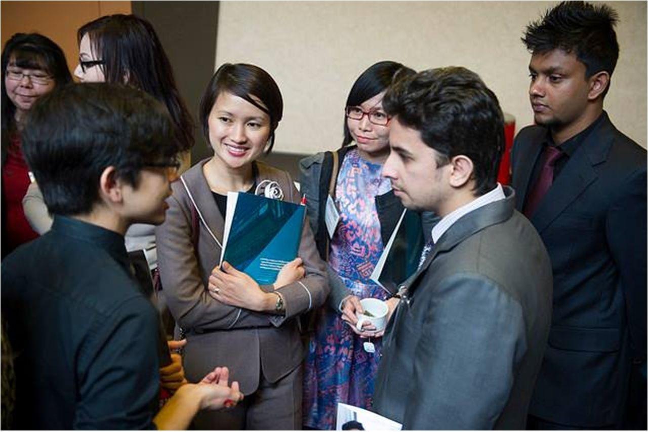 Sinh viên lĩnh vực kinh doanh tại Cao đẳng Red River được tạo nhiều cơ hội để cọ xát với thực tế ngành nghề
