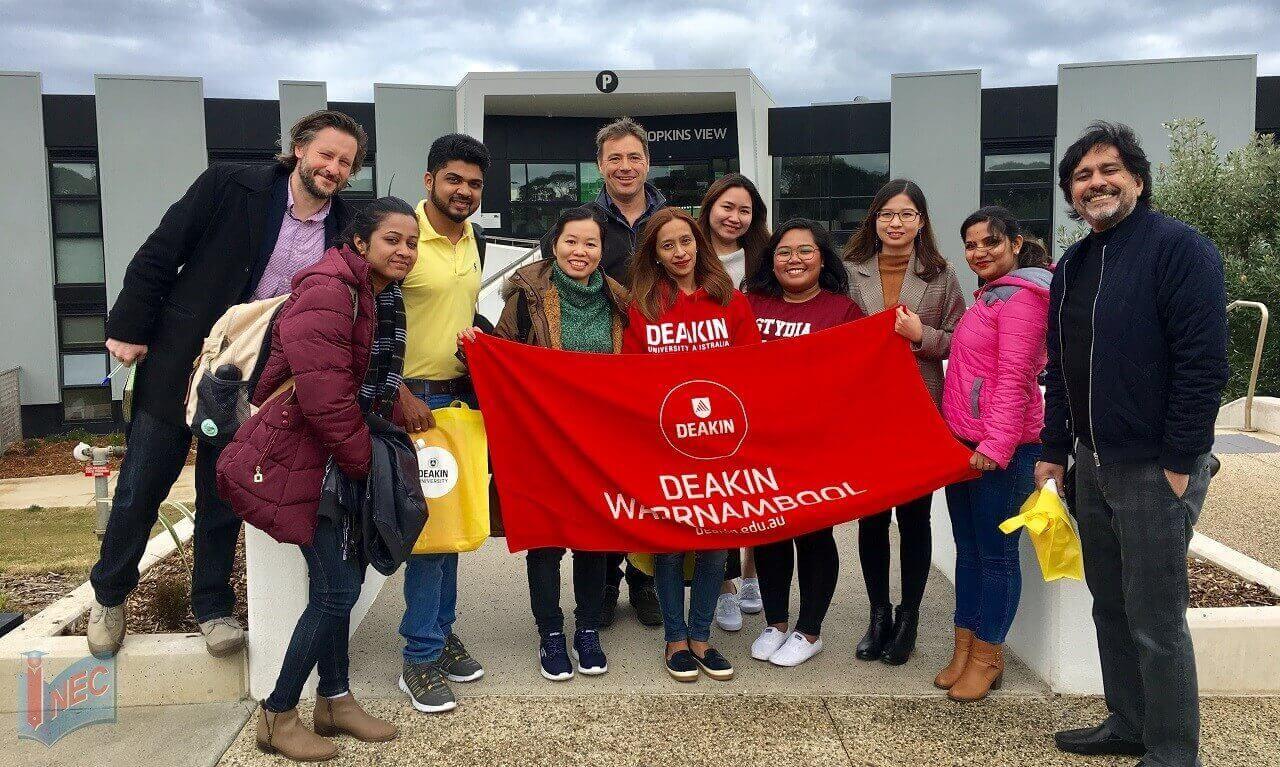 Đại diện tuyển sinh tốt nhất của Đại học Deakin