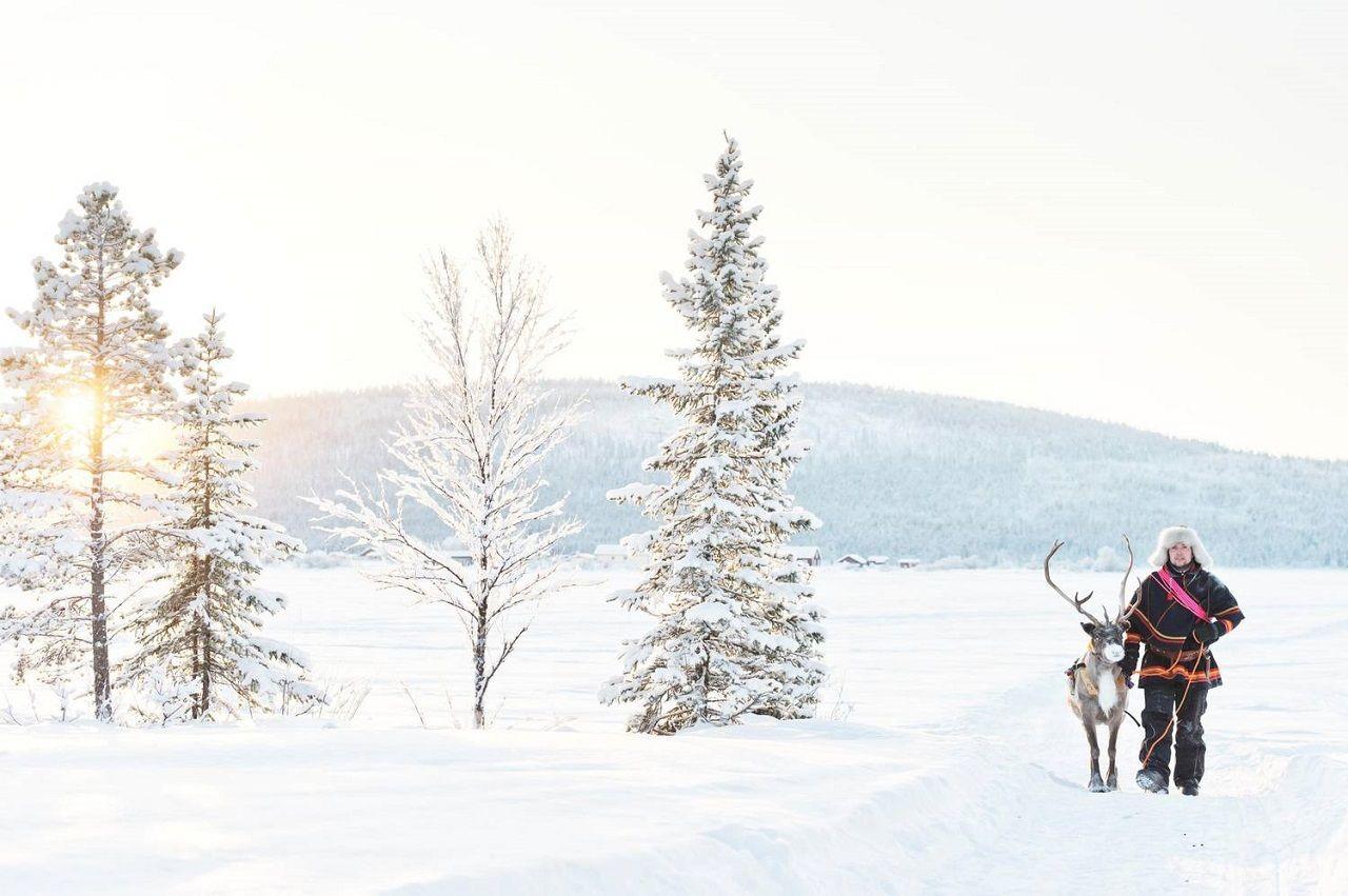 Mùa đông Thụy Điển khắc nghiệt nhưng đâu đó vẫn tràn ngập ánh sáng, hơi ấm và sự lạc quan