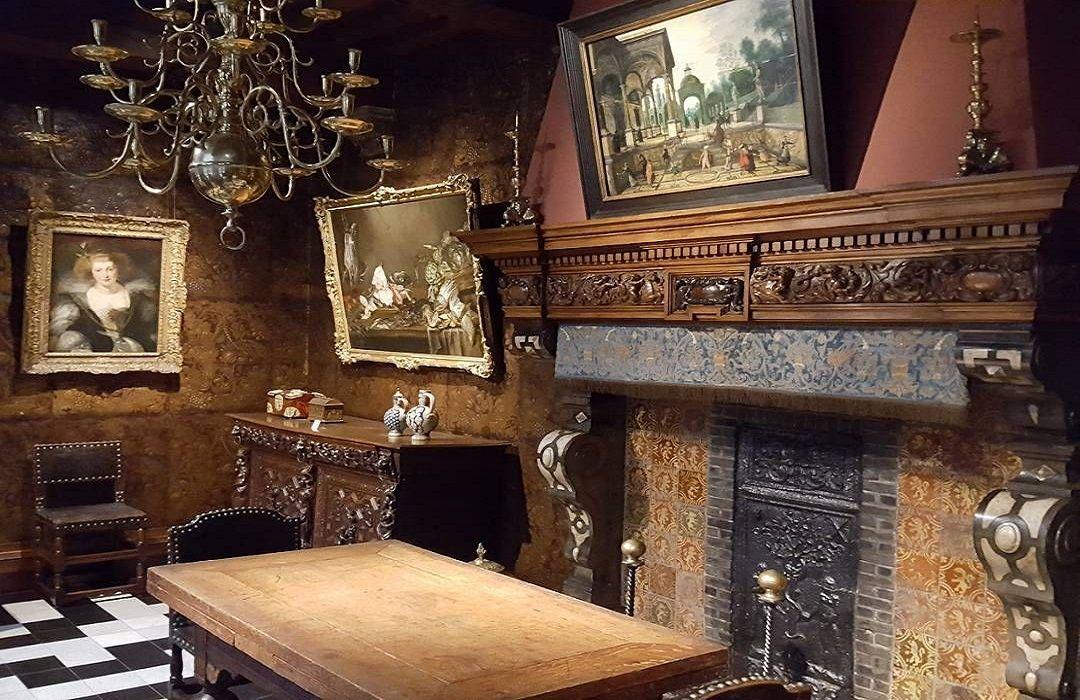 Một số tác phẩm của Rubens được trưng bày tại nơi ông từng ở và làm việc