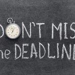 Deadline học bổng