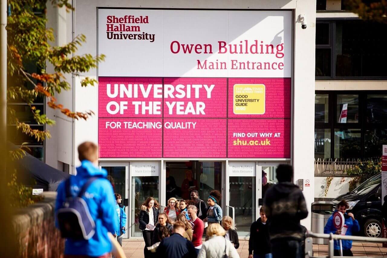 Học bổng Đại học Sheffield Hallam