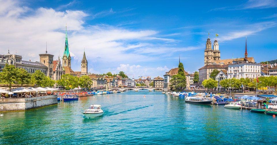 Cảnh quan đất nước Thụy Sĩ