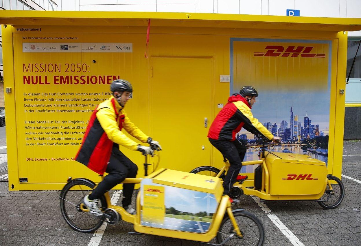 Logistics xanh ở Rotterdam