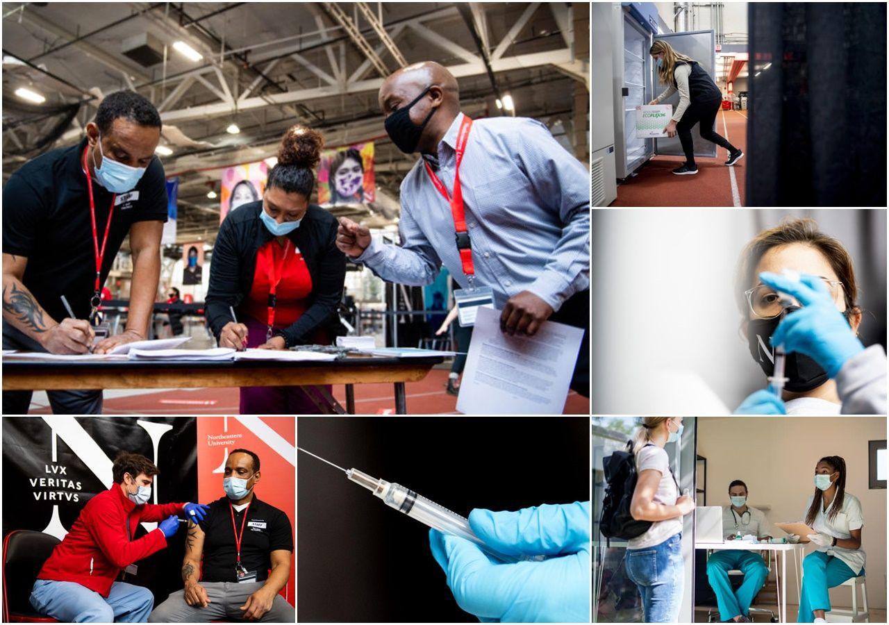 Công tác chuẩn bị tất bật tại các trường đại học Mỹ để tiêm vaccine Covid-19 cho sinh viên