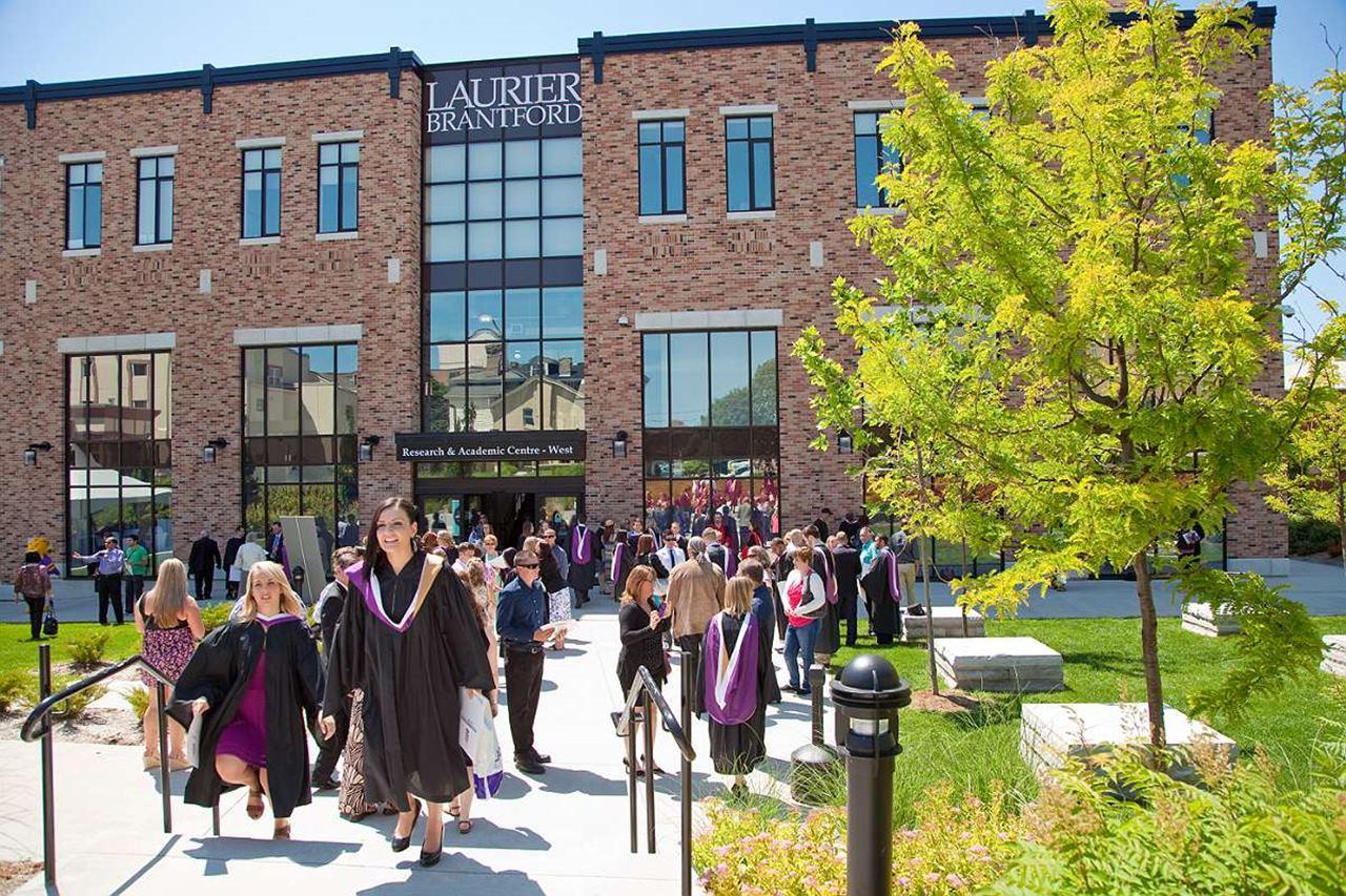 Khu học xá của Đại học Wilfrid Laurier ở thành phố Brantford