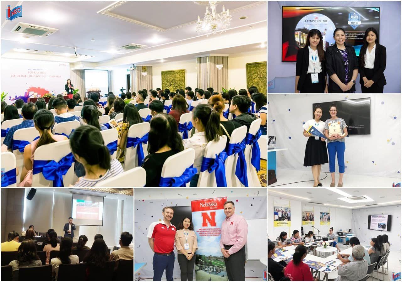 INEC đồng hành với các trường tại Mỹ đem đến thông tin mới nhất, chính xác nhất cho phụ huynh và học sinh Việt Nam