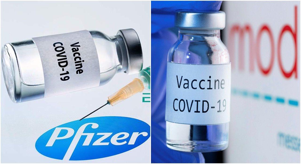 Vaccine Pfizer-BioNTech và Moderna đang được tiêm tại Mỹ