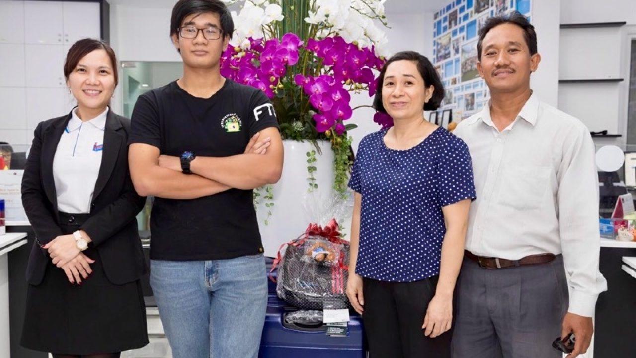 Lâm Tuấn Kiệt, học sinh INEC từng xuất sắc giành suất học bổng 100% từ JCU Singapore năm 2017