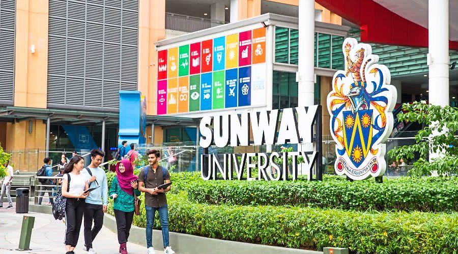 Sinh viên được tận hưởng môi trường học hiện đại, đẳng cấp tại Đại học Sunway